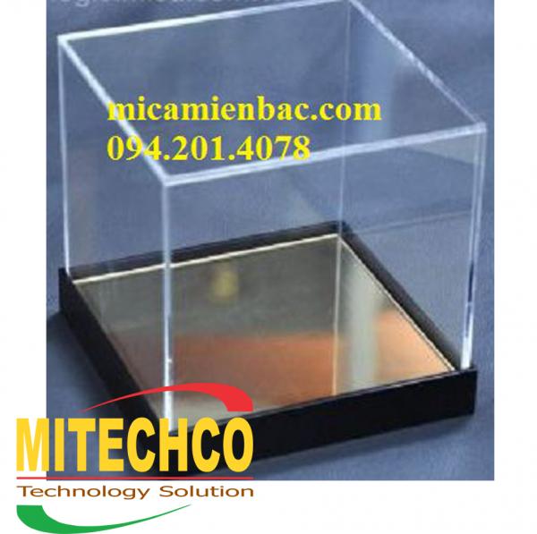 Hộp mica trong trưng bày sản phẩm