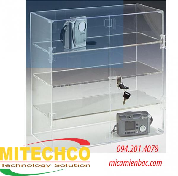 hộp mica trưng bày sản phẩm