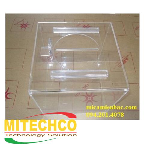 làm hòm phiếu mica trong tại Mitechco