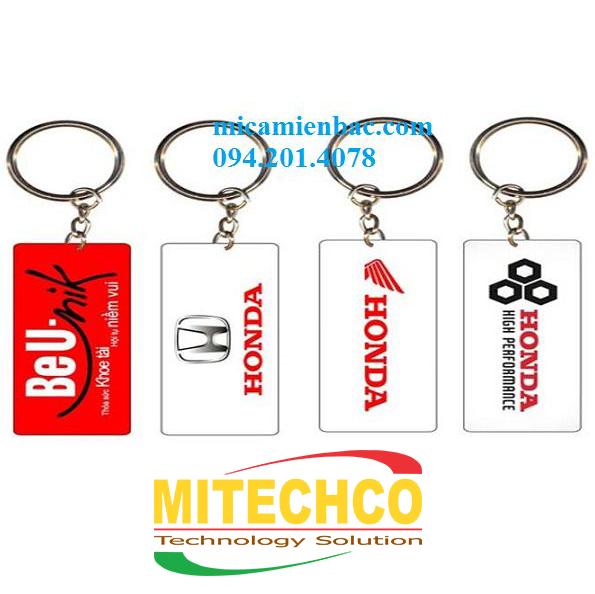 Móc chìa khóa xe máy quảng bá cho thương hiệu xe