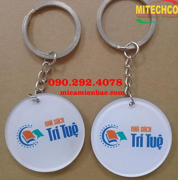 Địa chỉ làm móc chìa khóa mica ở Hà Nội theo yêu cầu